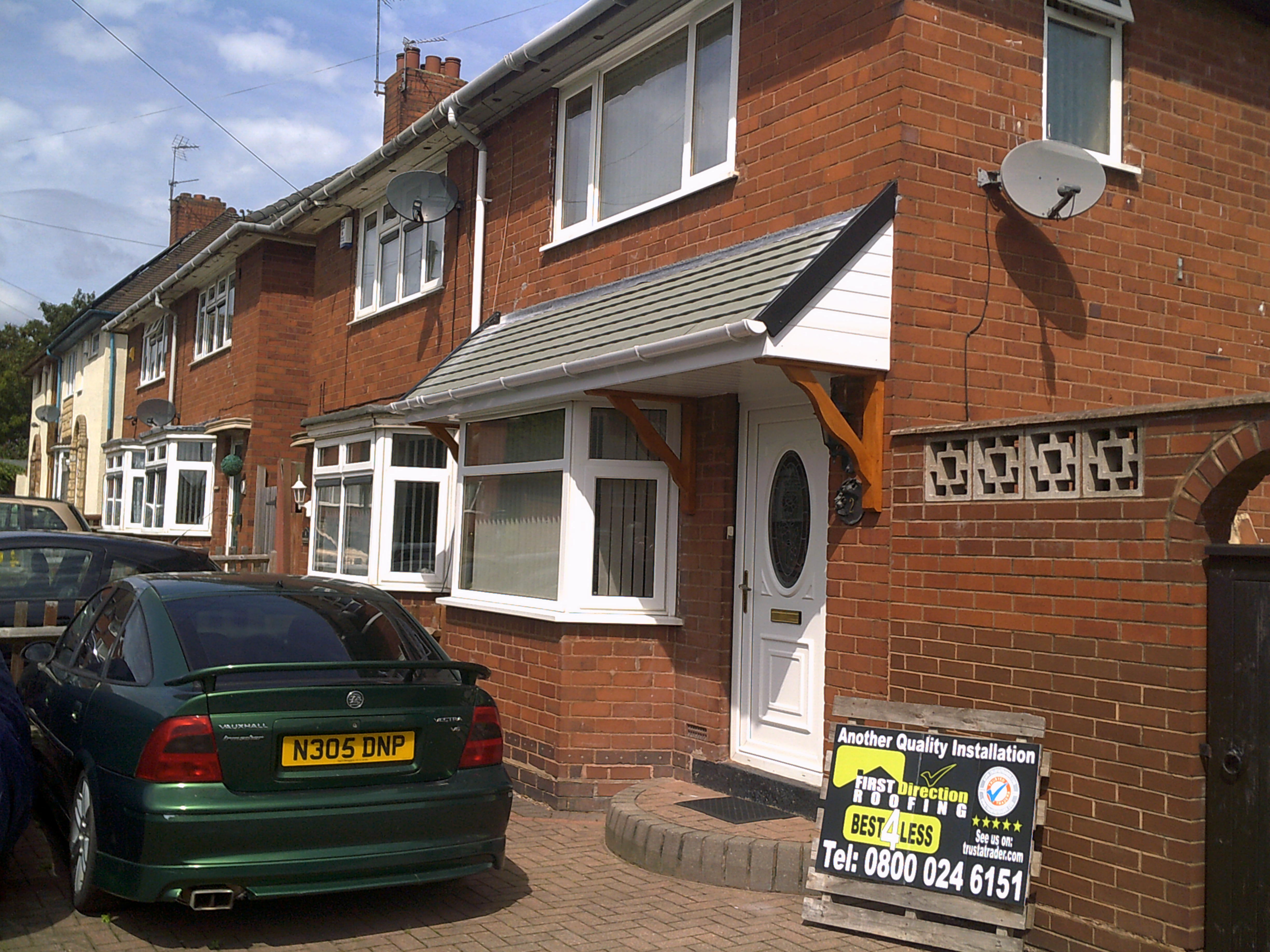 Show Homes In The Wolverhampton Area First Direction Roofing